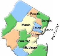 Buy Northern New Jersey Real Estate - One Family Homes, Condos or Townhouses